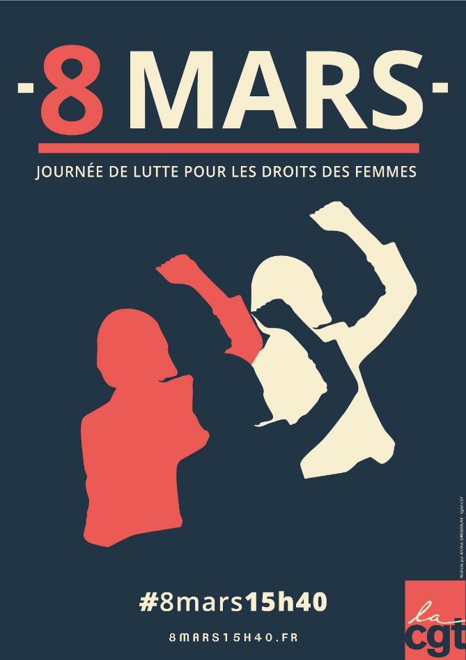 8 mars Femmes en lutte, luttes de femme
